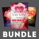 Valentine Flyer Bundle Vol.03 - GraphicRiver Item for Sale