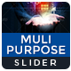 Multi Purpose Slider - GraphicRiver Item for Sale
