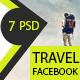 Facebook Travel - GraphicRiver Item for Sale
