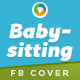 Babysitting Facebook Cover - GraphicRiver Item for Sale