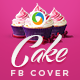 Cake Decoration Facebook Cover - GraphicRiver Item for Sale