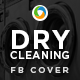 Dry Cleaning Facebook Cover - GraphicRiver Item for Sale