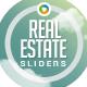Real Estate Sliders - GraphicRiver Item for Sale