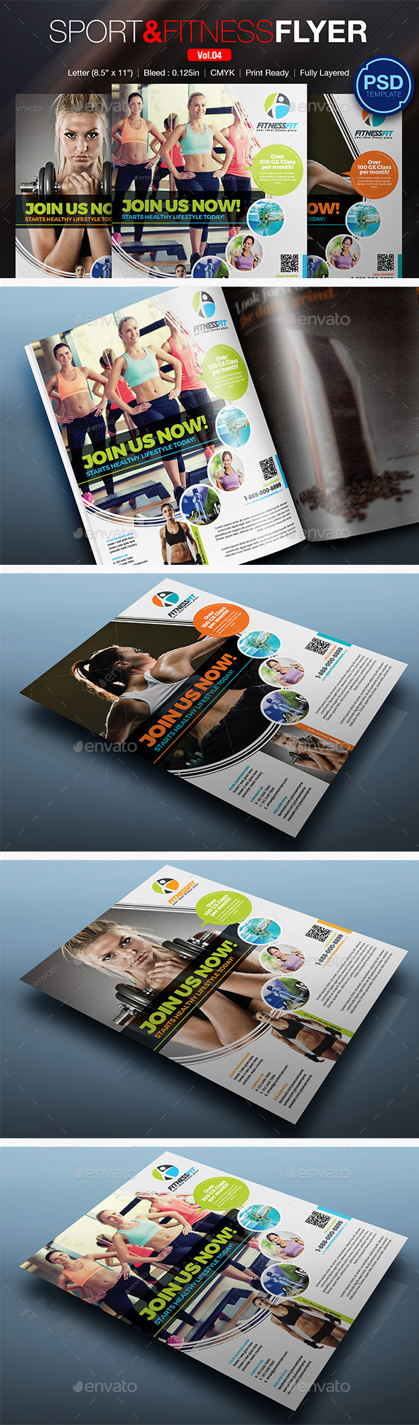 Sport & Fitness Flyer Vol.04