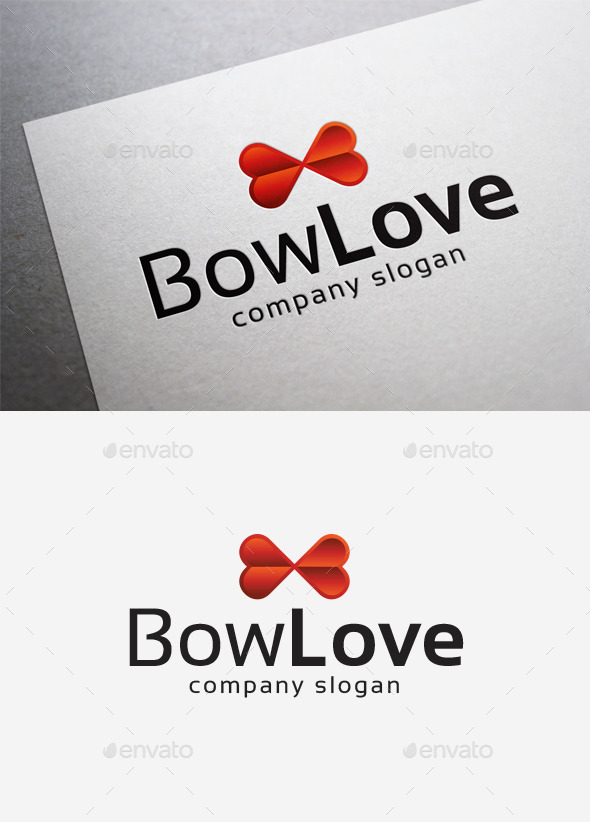 GraphicRiver Bow Love Logo 10290658