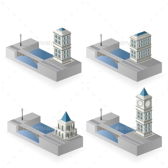 GraphicRiver Isometric Houses 10290792