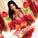 Valentine Passion Party Flyer Template - GraphicRiver Item for Sale