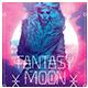 Modern Flyer - Fantasy Moon - GraphicRiver Item for Sale