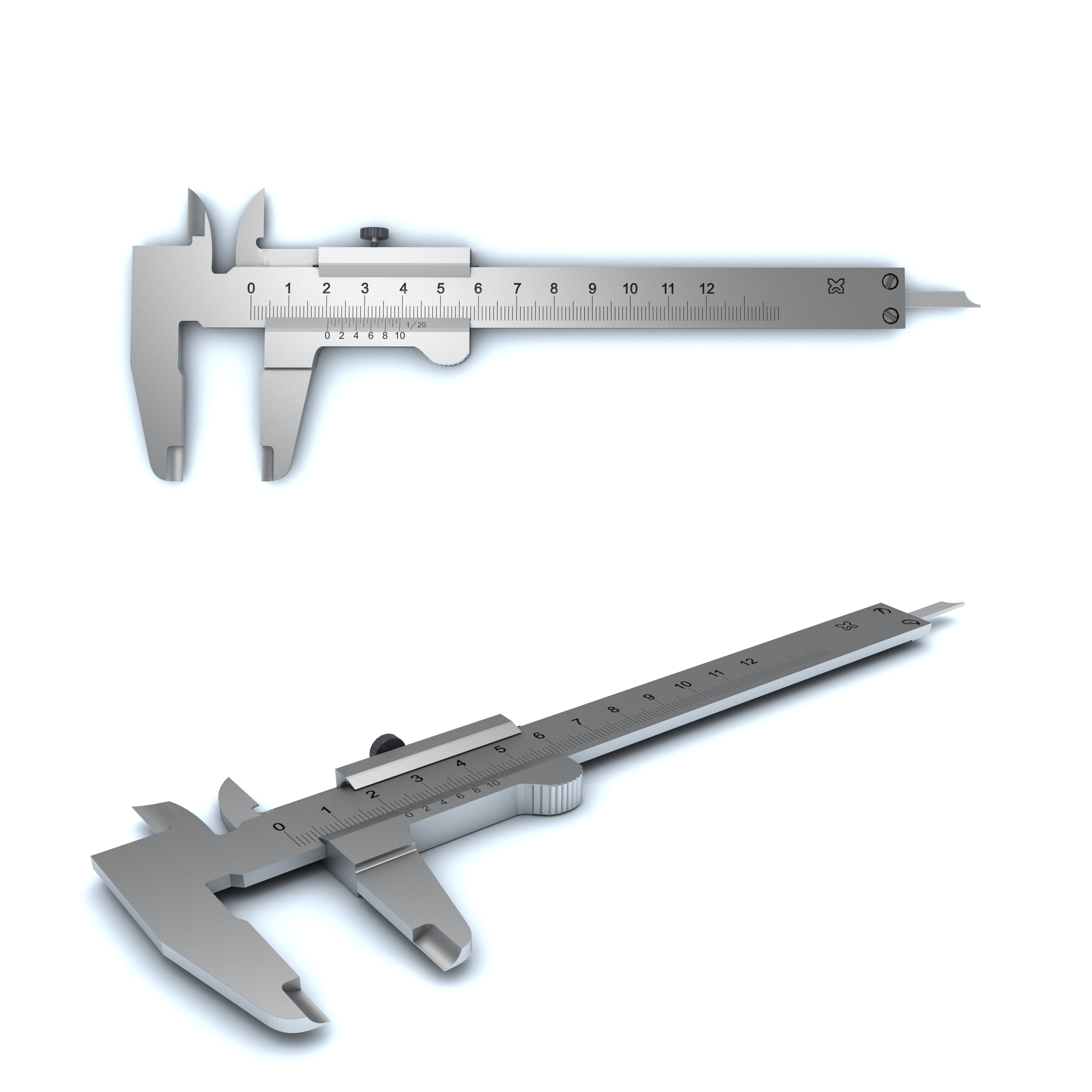 vernier caliper - 3DOcean Item for Sale