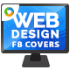 Web Design Company Facebook Cover - GraphicRiver Item for Sale