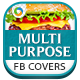 2 Multipurpose Facebook Covers - GraphicRiver Item for Sale