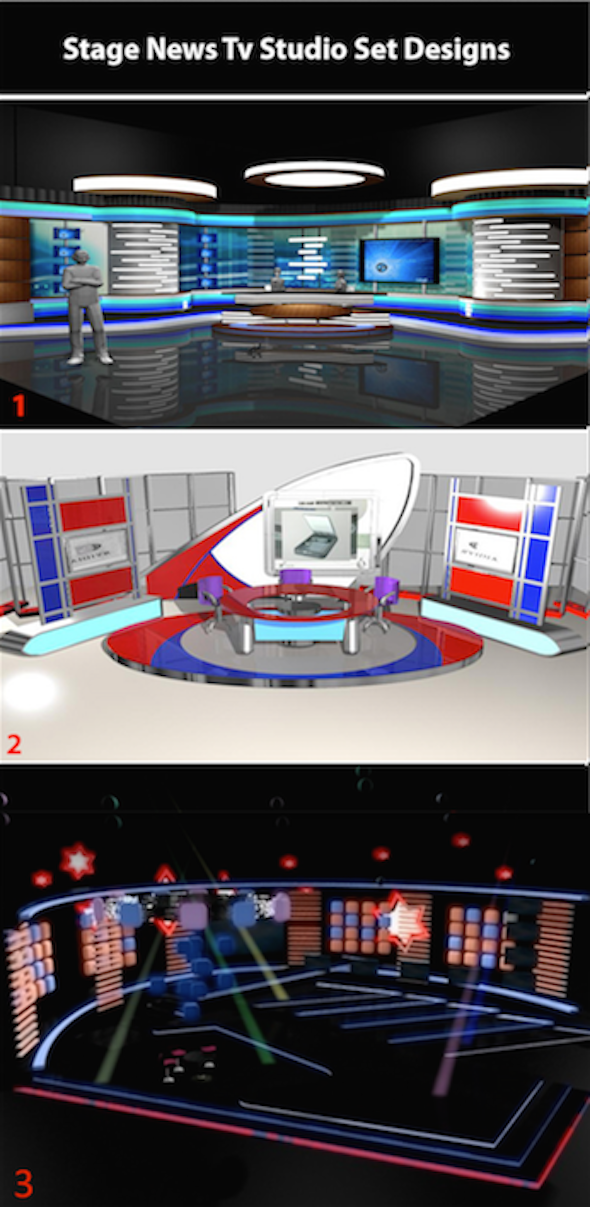3DOcean Tv News Studio Bundle-002 020 023 10292295