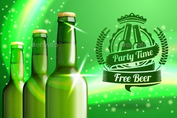 GraphicRiver Banner for Beer Advertisement 10293106