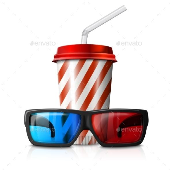 GraphicRiver 3D Glasses Cinema 10293116