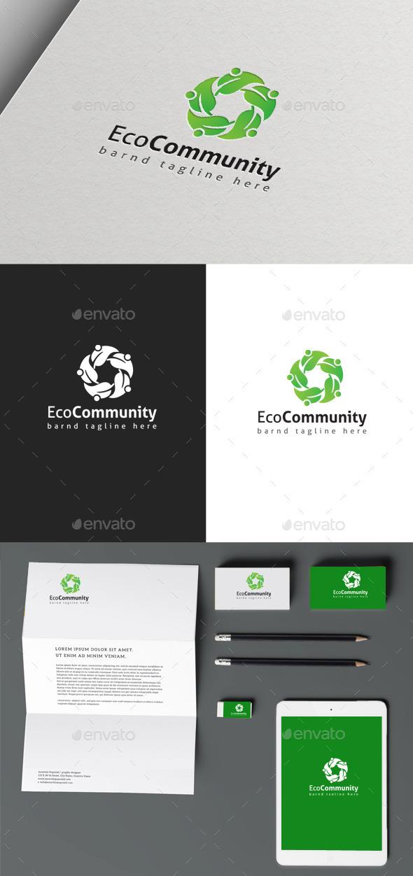 GraphicRiver Eco Community 10293227