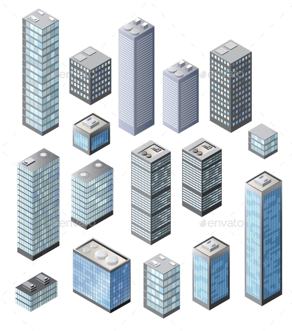 GraphicRiver Set of 3D Vector 10293268