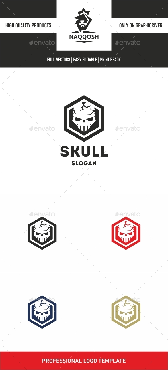 GraphicRiver Skull 10293588