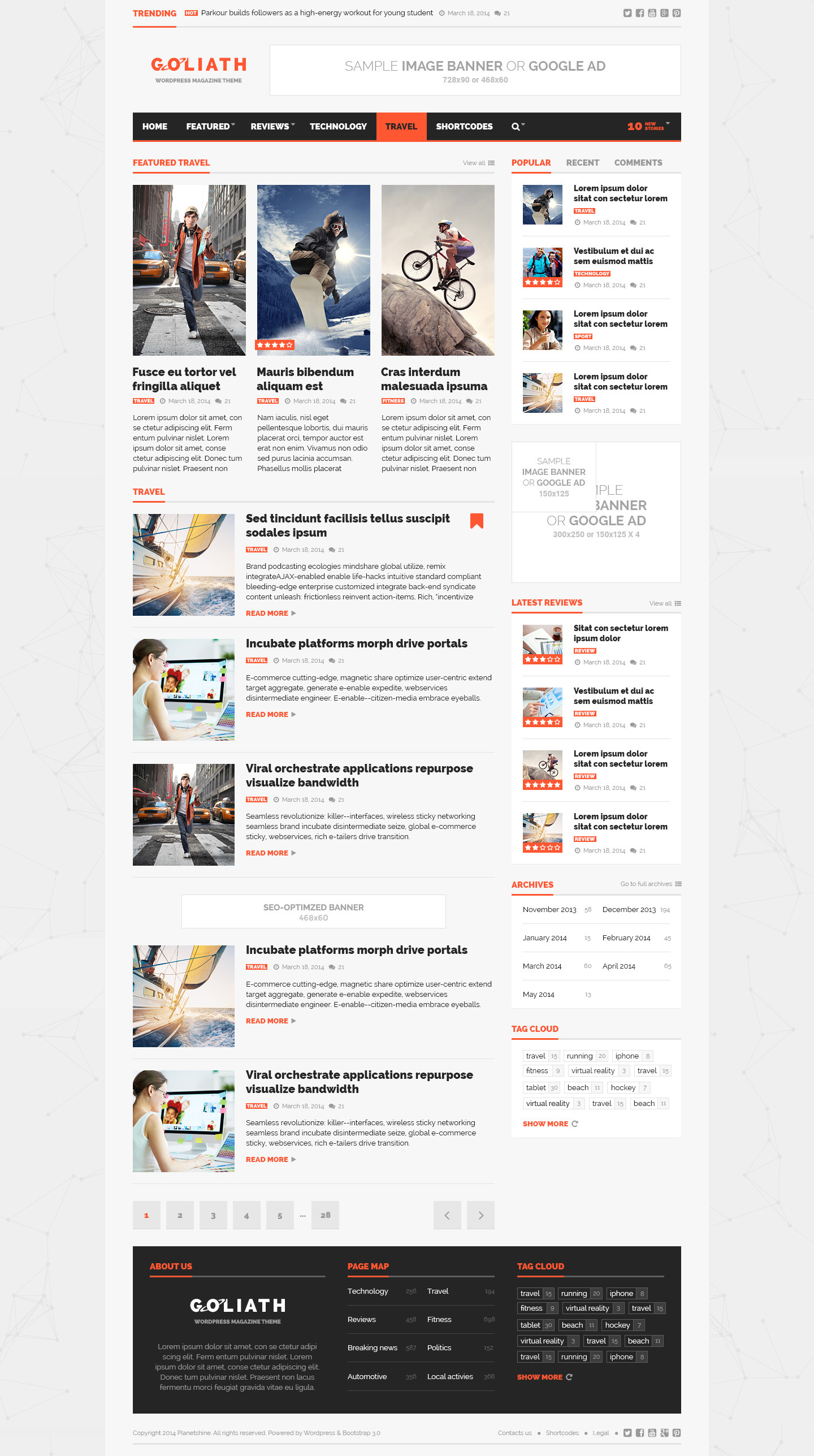 goliath ads optimized news reviews magazine by planetshine goliath ads optimized news reviews magazine