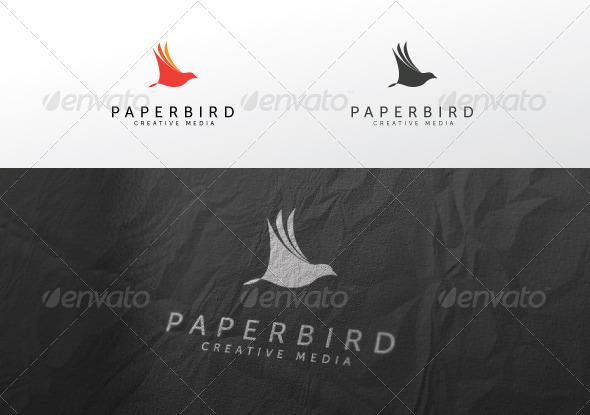 GraphicRiver Paper Bird 1036560
