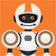 Friendly Robot Mascot - GraphicRiver Item for Sale