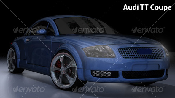 Audi TT Coupe - 3DOcean Item for Sale
