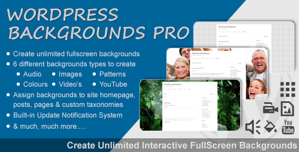 CodeCanyon WordPress Backgrounds Pro 10294509