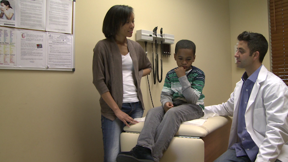 Doctor Diagnoses A Young Boy 7 Of 10