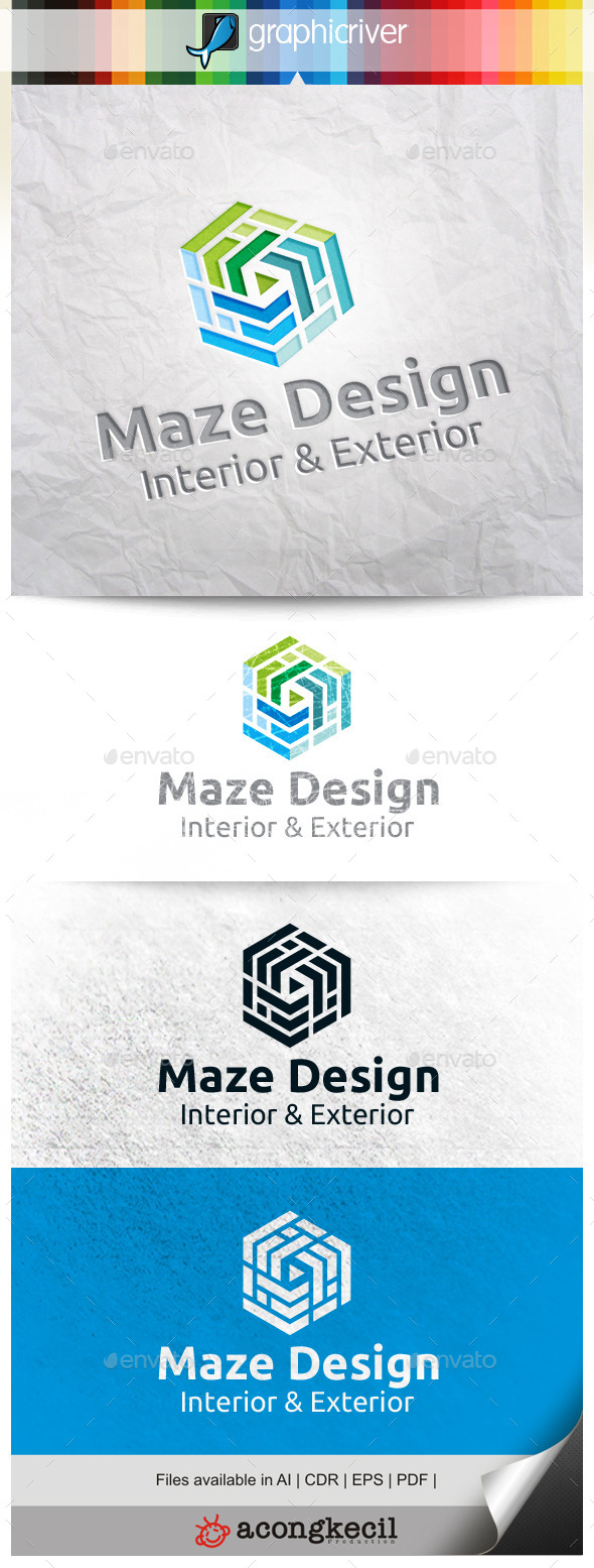 GraphicRiver Maze Design V.2 10295626