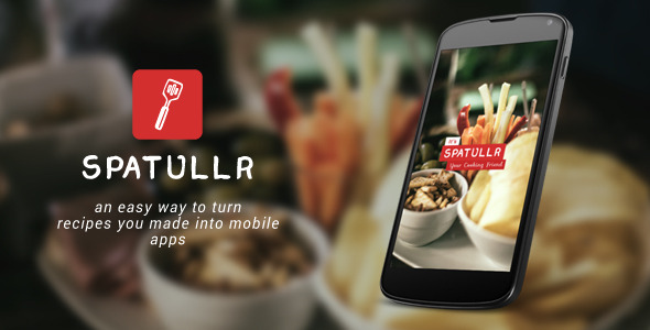 Spatullr: Recipes App for Android - CodeCanyon Item for Sale