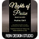 Nights of Praise Church Flyer - GraphicRiver Item for Sale