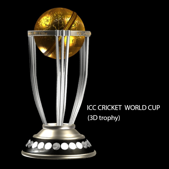 3DOcean Cricket World Cup trophy 10297381