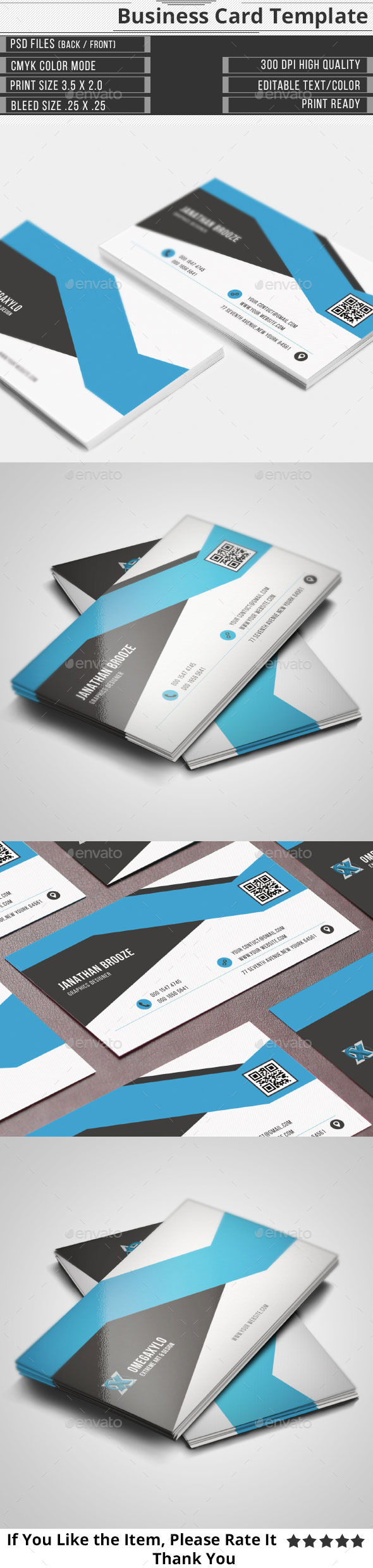 GraphicRiver Elegant Corporate Business Card 10297396