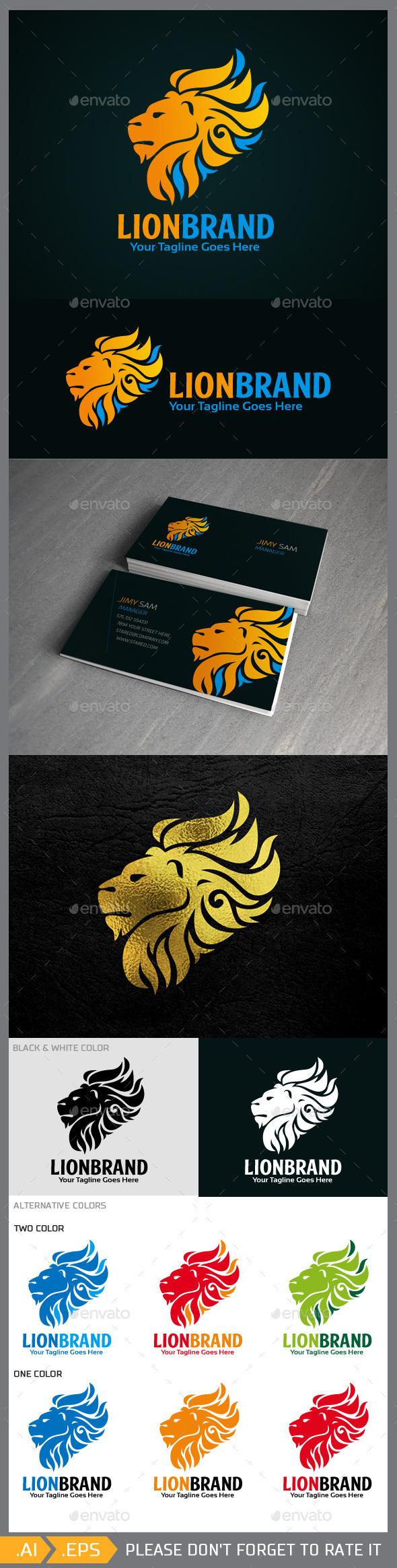 GraphicRiver Lionbrand Logo Template 10227400