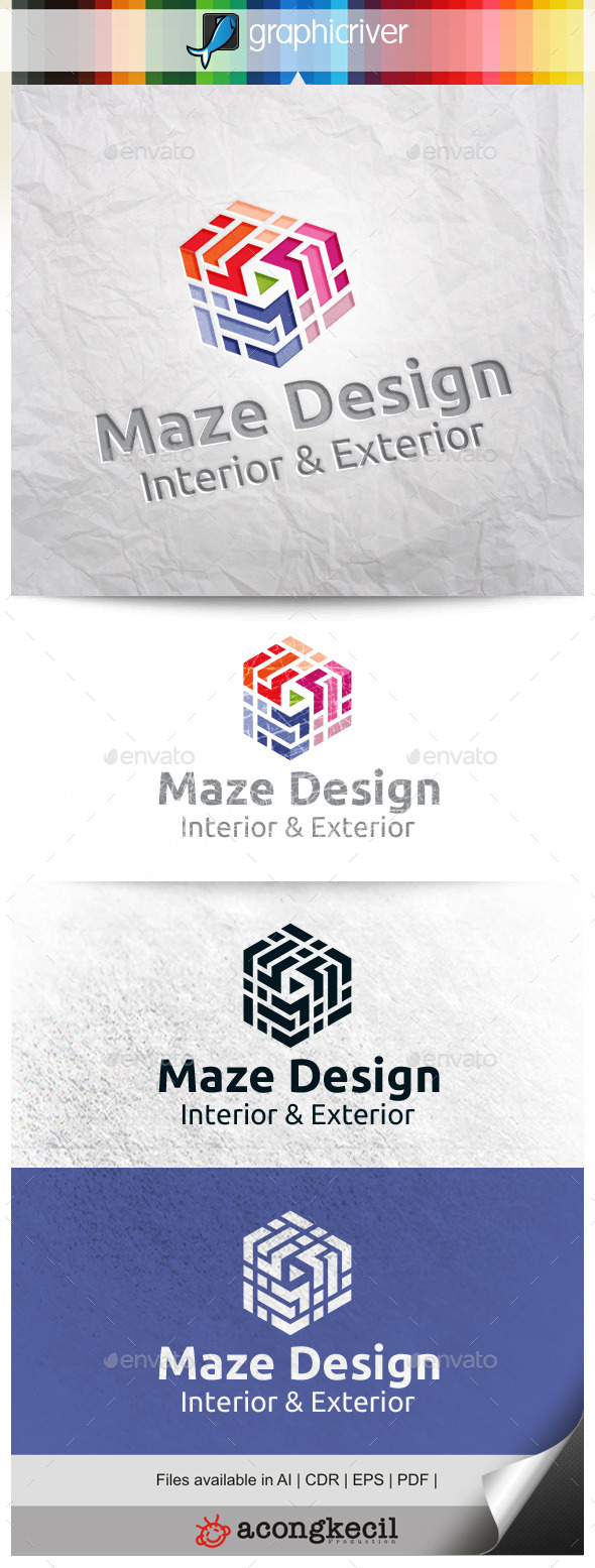 GraphicRiver Maze Design V.3 10297687