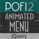 Pofi 2 - Responsive Animated Menu - CodeCanyon Item for Sale