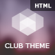 Club Cube - responsive HTML5 theme for night club - ThemeForest Item for Sale