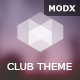Club Cube - responsive MODX theme for night club