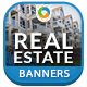Real Estate Banners - GraphicRiver Item for Sale