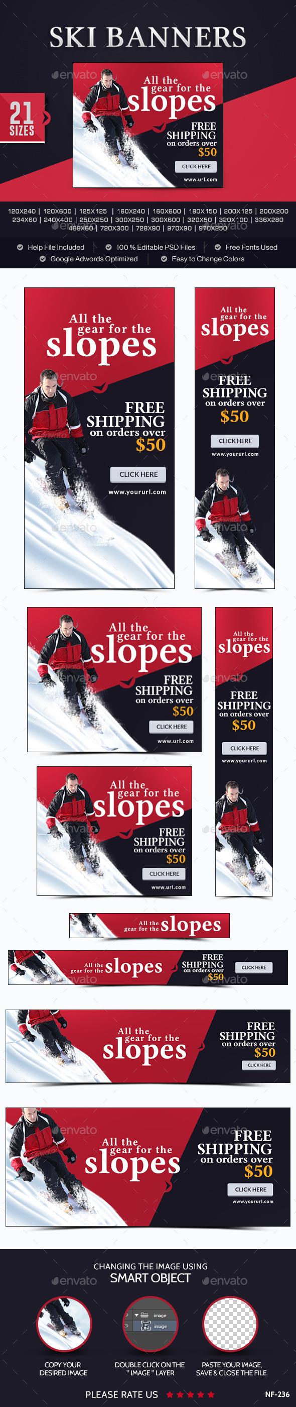 Ski Banners