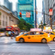 Blurred and zoomed traffic view in New York City - PhotoDune Item for Sale