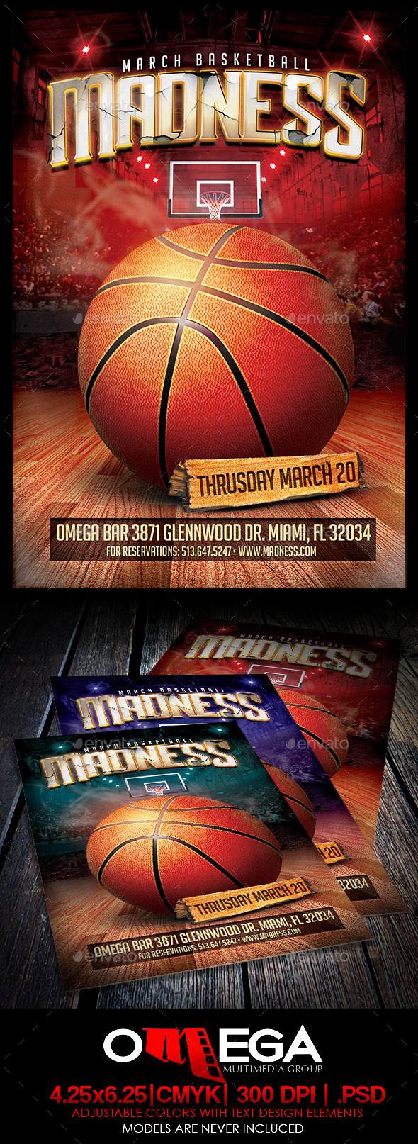 GraphicRiver Basketball Madness 15 10298676