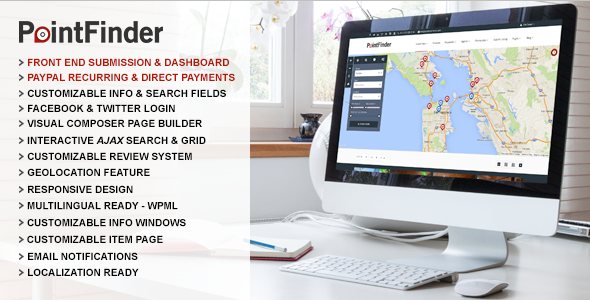 ThemeForest Point Finder Versatile Directory & Listing Theme 10298703