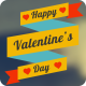 Happy Valentine's Day Badges Pack - VideoHive Item for Sale