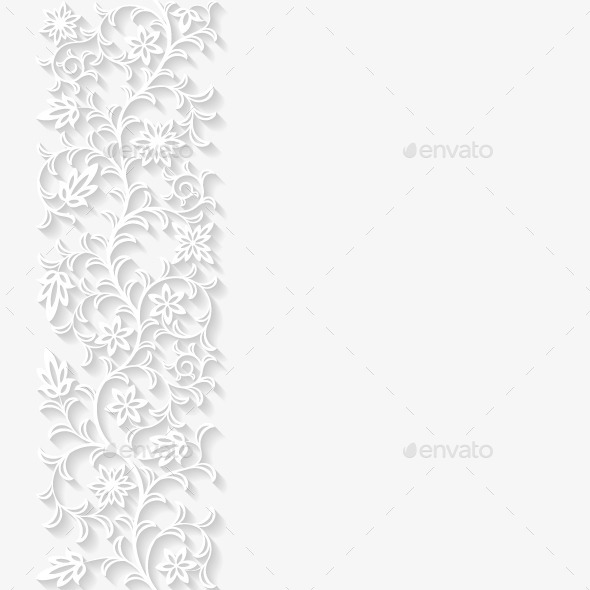 GraphicRiver Abstract Paper Floral Background 10298831