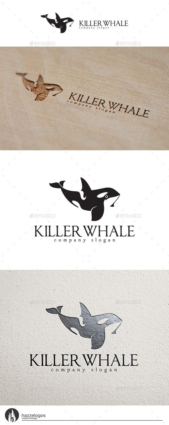 GraphicRiver Killer Whale Logo 10298892