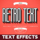 Retro Vintage Text Effects vol.3 - GraphicRiver Item for Sale