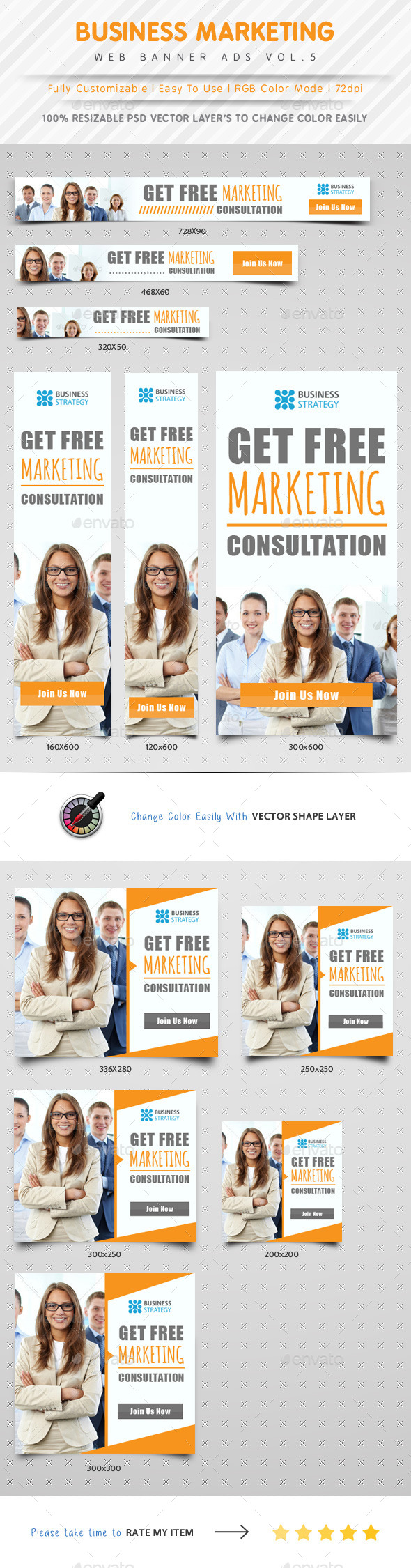 GraphicRiver Business Marketing Web Banner Ads Vol.5 10299288