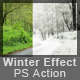 Winter Effect Action - GraphicRiver Item for Sale