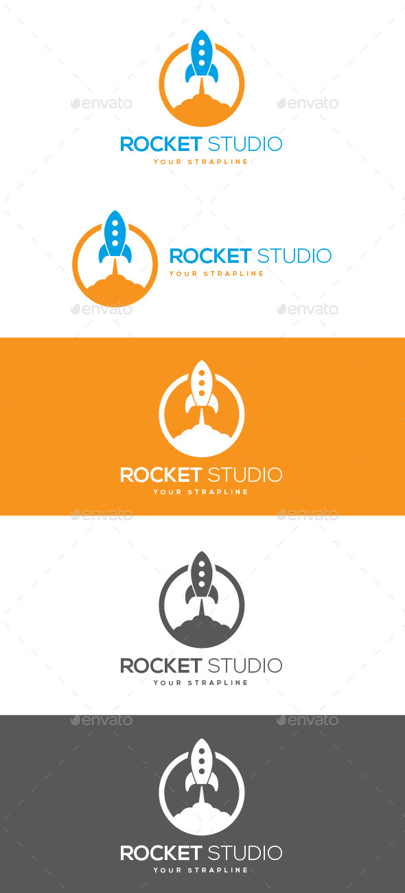 GraphicRiver Rocket Studio Logo 10299623
