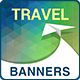 Travel - Vacation Ad Marketing Banners - GraphicRiver Item for Sale
